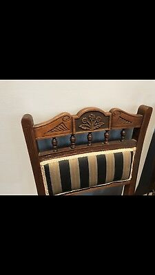 antique dining chairs Set Of 5