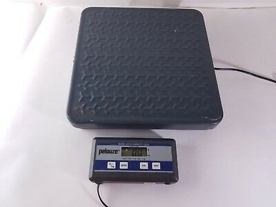 Working Pelouze 4010 Remote Display Commercial Scale 150lb Capacity