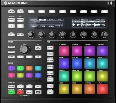Native Instruments Maschine MKII with Komplete Select