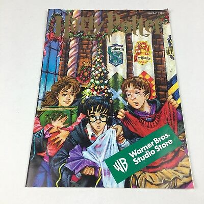 Warner Brothers Studio Store 2000 catalog Harry Potter Cover Holiday Christmas