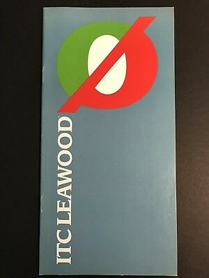 ITC Leawood, Type Specification Book, 36 pg, 1985, graphic design, Les Usherwood