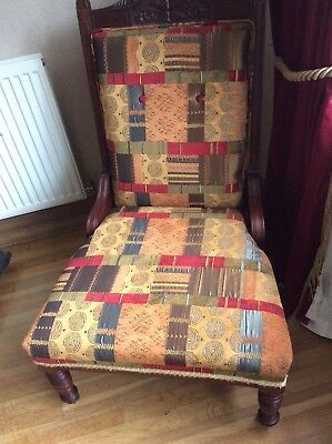 Victorian drawing room chair