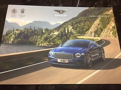 2019 Bentley Continental Gt All-New Vip Full Sales Brochure Usa 84 Pgs