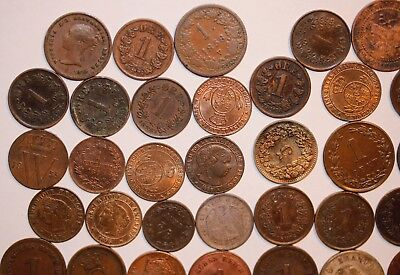 GIANT WORLD Coin Lot - 99 COINS FROM THE 1800'S. Instant collection       #908