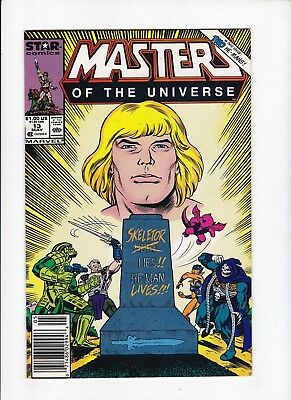 Masters of the Universe 13 Final Issue Death of Skeletor VF Comic Book Lot of 1