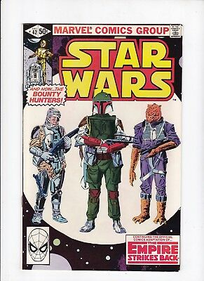 Star Wars 42 1st Appearance of Boba Fett 1980 Marvel VF- Comic Book Lot of 1