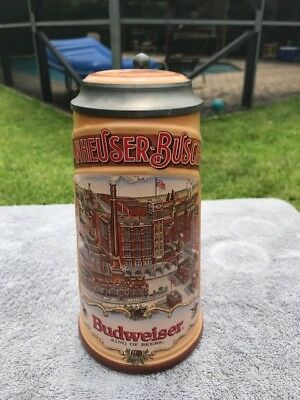 Anheuser Busch Classic Collection Brewery 1890 - Made in Germany