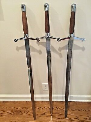 Medieval Scottish Claymore Sword