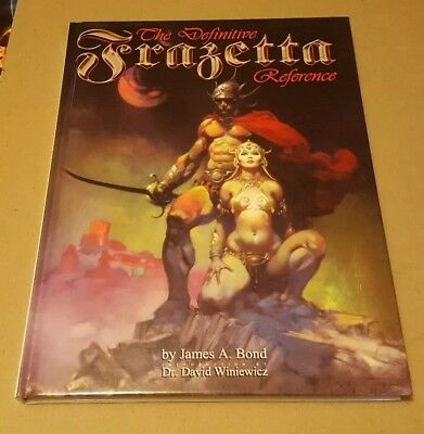 THE DEFINITIVE FRAZETTA REFERENCE DLX (2008, Hardcover) BRAND NEW