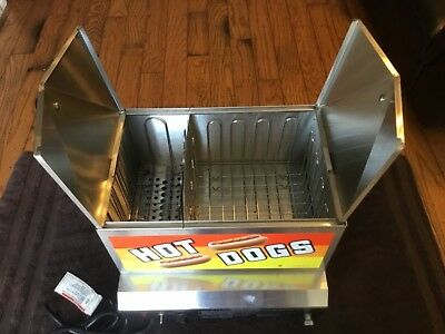 Gold Medal Steamin Demon Hot Dog Cooker Steamer
