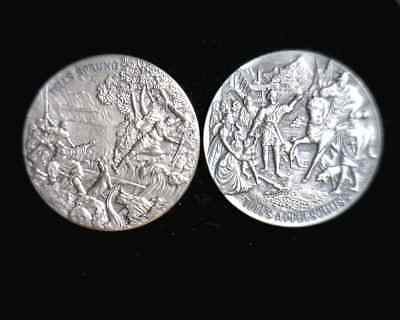 #BR-18   2 William Tell Silver Medals