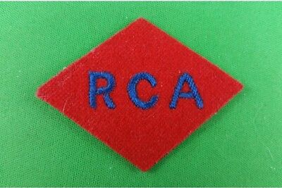 WW2 Cloth RCA 1st Division Patch