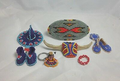 Lot of Native American Beadwork ~ 6 pieces