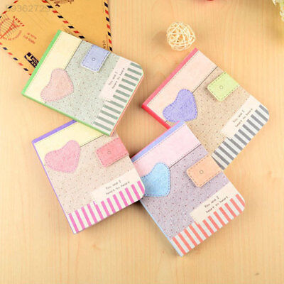9DEB Cute Hardback Notepad Notebook Writing Paper Journal Memo Stationery Gifts