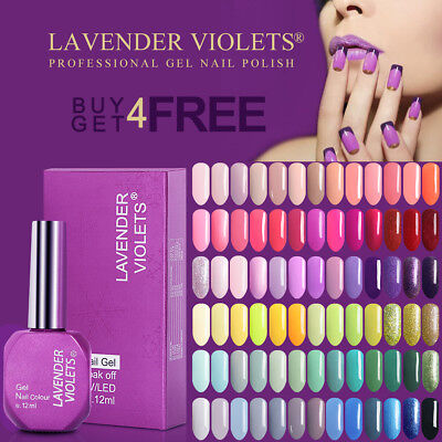 12ML UV LED Soak Off Nail Gel Polish Professional 150+ Colors Buy 4 Get 4 Free