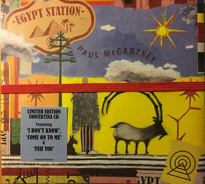 Egypt Station by Paul McCartney (CD, Sep-2018, Capitol) Beattles *NEW/SEALED*