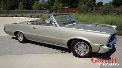1965 Pontiac GTO  1965 Pontiac GTO Convertible 389 Matching numbers Fully Documented