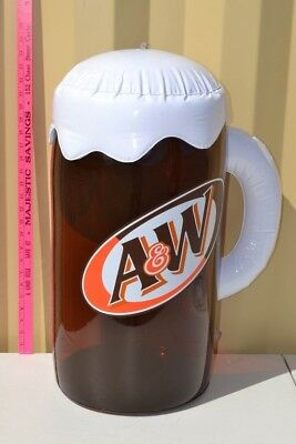 A & W Root Beer Mug advertising Inflatable 24 inch