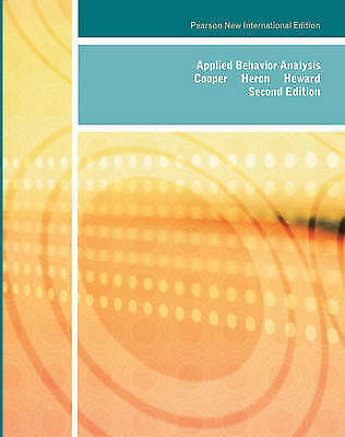 Applied Behavior Analysis by William L. Heward, John O. Cooper, Timothy E. Heron