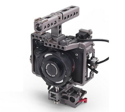 Tilta DSLR Camera Cage Baseplate Mount Top Handle For SONY A7 A7S A7S2 A7R A7R2