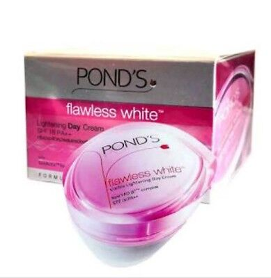 2 X Pond's Flawless white Lightening Day Cream with Sun Protection