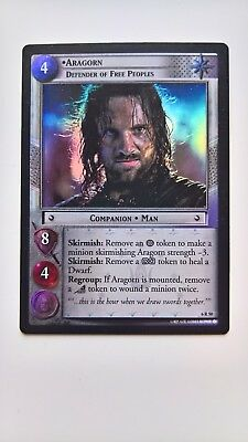 Lord of the Rings TCG - Aragorn Defender of Free Peoples Rare Foil (6R50)
