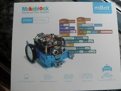 mBot educational robot kit make and program your robot with bluetooth new LEGO