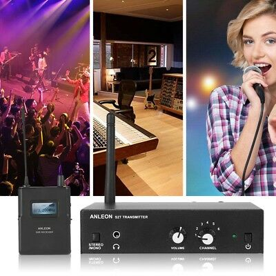 Wireless UHF In-ear Monitor System Stereo ANLEON S2 IEM Stage Monitoring System