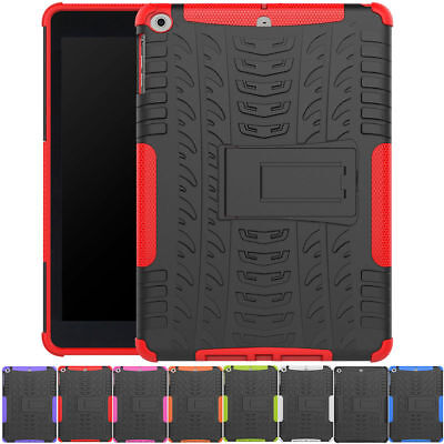"""For Apple iPad 6th Generation 2018 9.7"""" Hybrid Shockproof Stand Hard Case Cover"""