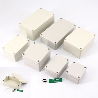 Waterproof ABS Electronics Project Boxes Enclosure Instrument Hobby Case Screw