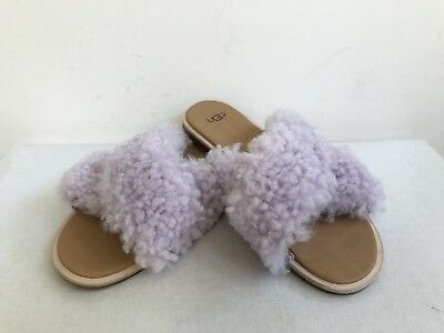 08e4a27b4ed UGG JONI CURLY Sheepskin Slippers PINK US 6.5 EU 37.5 - $48.99 ...