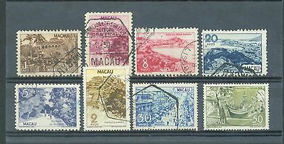 Macao 1948-50 Pictorials 8 used
