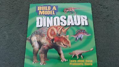 Build A Model Book Dinosaurs New