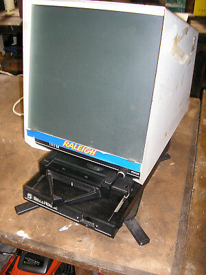 Bell & Howell 1382AVG microfiche reader with swivel stand
