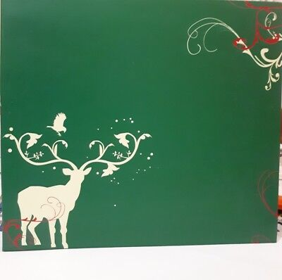 """8X8"""" Christmas Scrapbook Album   x Cre8tiv 10 Pages,10 Inserts, 10 Print Papers"""