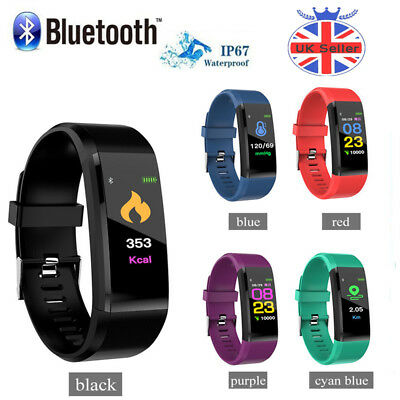 Veryfit ID115 PLUS Smart Band FITNESS TRACKER /HEART RATE/ PEDOMETER Bracelet UK