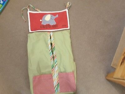 Cocalo Nappy Stacker Elephant Design, green red
