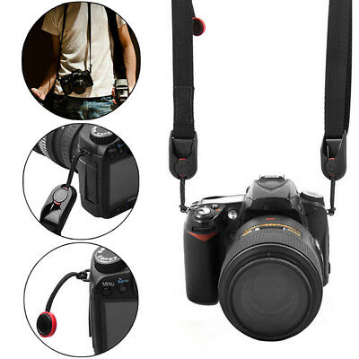 Quick Rapid Shoulder Sling Belt Neck Strap for Camera SLR/DSLR Nikon Canon AU