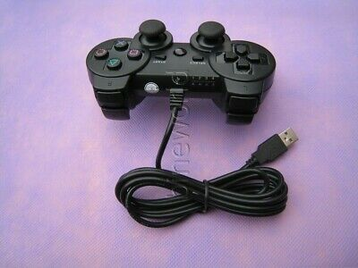 Wired USB Cable or Wireless 2.4GHz Game Controller Gamepad For PS3