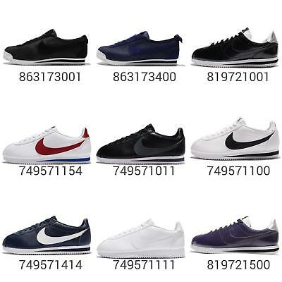 timeless design ad7db d82b4 Nike Classic Cortez   Leather   72   Prem Mens Running Shoes Sneakers Pick 1