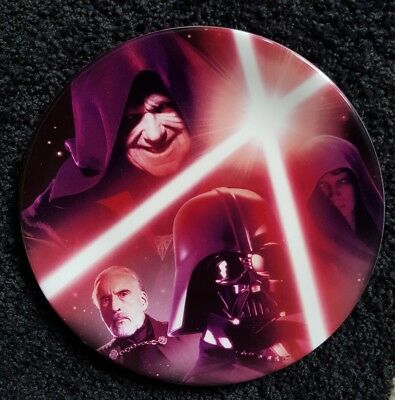 Star Wars Collectors Plate Sith