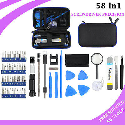 58 in1 Screwdriver Precision Tool Torx Screw Driver Set Kit Repair PC Mobile NEW