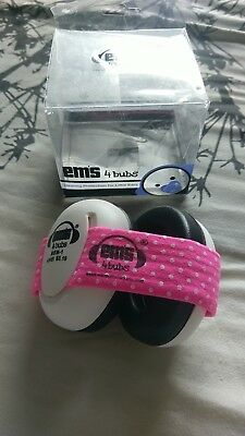 Ems 4 bubs Hearing Protection For Little Ears baby Ear Defenders 0-12 months