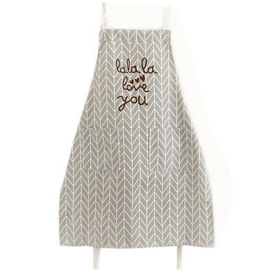 Kitchen Cooking Apron with Pockets Fashion Universal for Women Men Girls, c N3A3