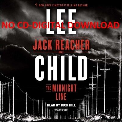 The Midnight Line: A Jack Reacher Novel By Lee Child  (Audiobook)