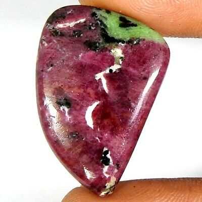 27.00Carat Natural Ruby Zoisite Fancy Cabochon Loose Gemstones