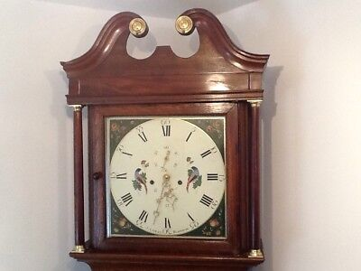 Antique Longcase / Grandfather Clock By James Lomax Of Blackburn. At Louth.