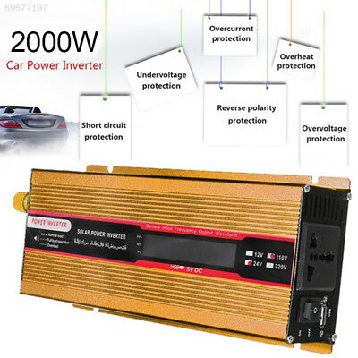 CCE8 Car Inverter DC12V To AC220V Converter Portable Adapter Auto Inverter