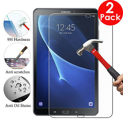 "2X Pack Tempered Glass Guard For Samsung Galaxy Tab A6 10.1"" T580  - T585"