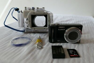 Panasonic TZ65 and DMW-MCTZ7 Underwater Compact Camera Kit